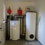 Realizace vytápění a kolektorů
