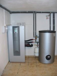 Kompaktní tepelné čerpadlo typu SWC